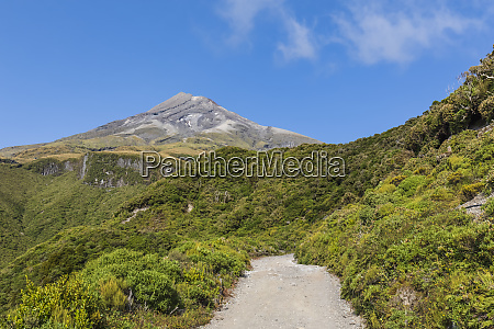 new zealand scenic view of mount
