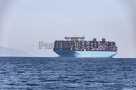 container ship strait of gibraltar tarifa