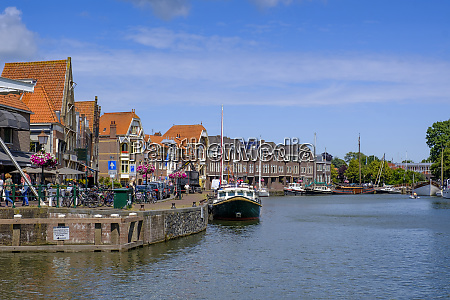 netherlands north holland hoorn town houses