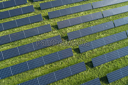 bavaria germany rows of solar panels