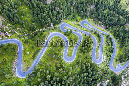 austria tirol kauner valley glacier road