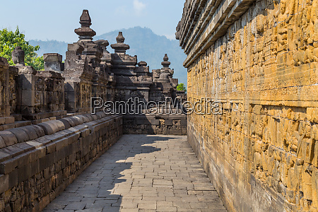 ancient buddhist temple of borobudur