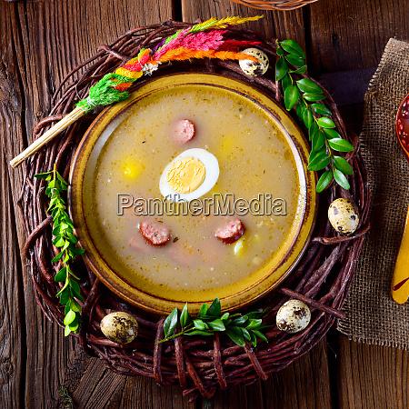 zurek polish easter soup for the