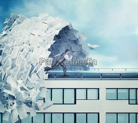 big wave of paperwork