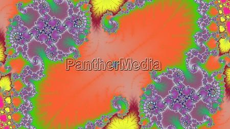 mandelbrot fractal colorful mandala