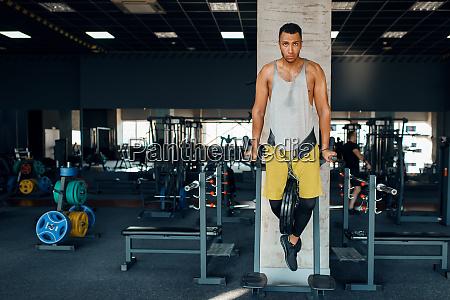 athlete, doing, push, ups, on, the - 28061456