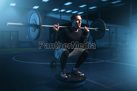strength, athlete, on, training, , workout, with - 28061852