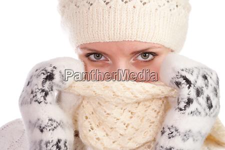 woman, warm, dresssed - 28061934