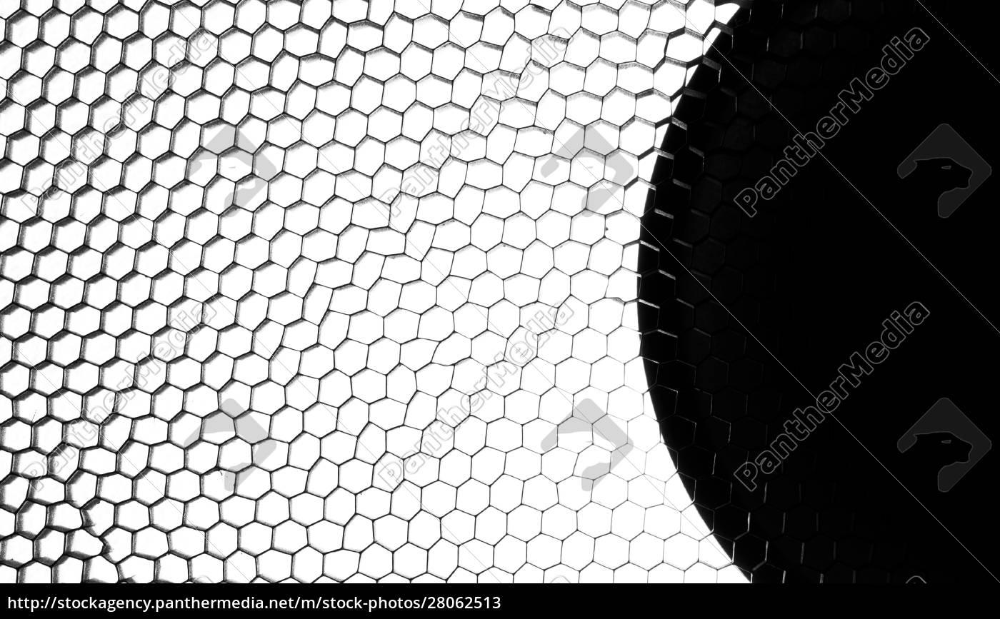 abstract, metallic, hexagon, mesh - 28062513