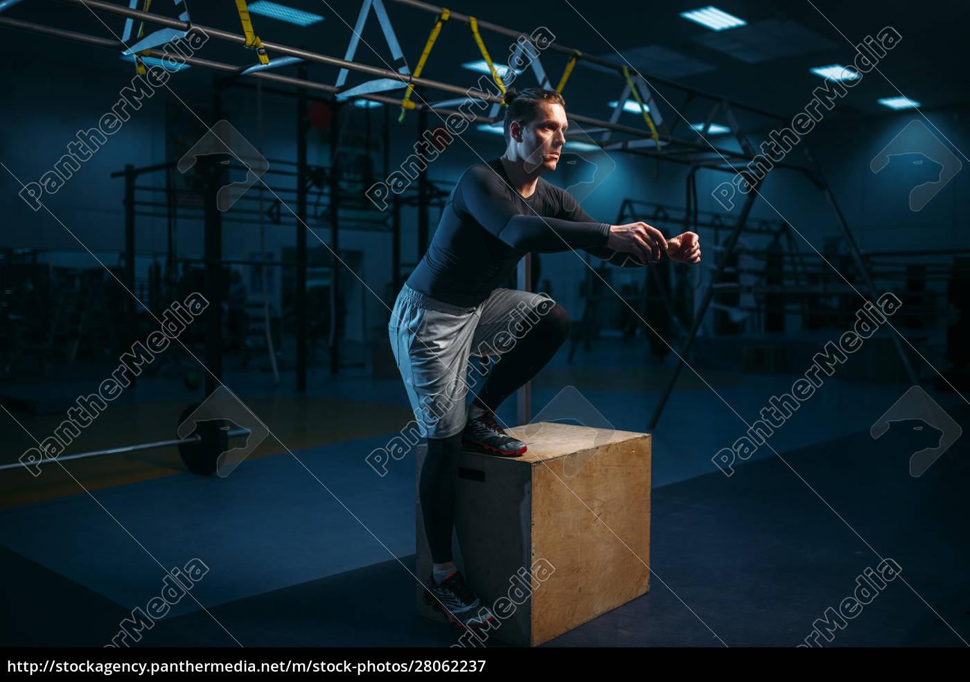 athlete, on, training, , endurance, exercise, with - 28062237