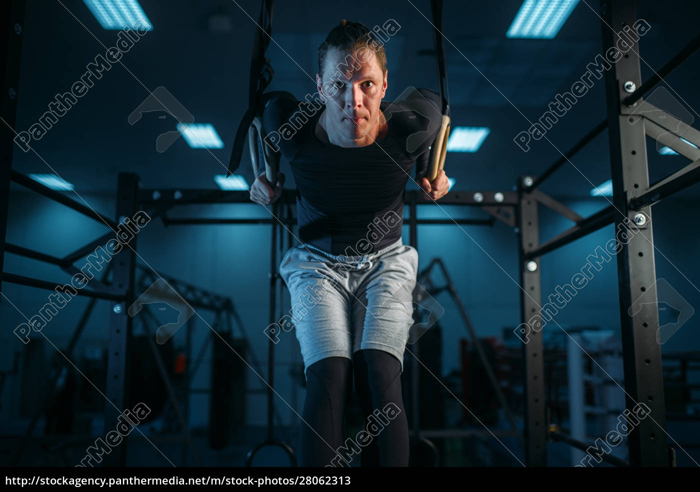athlete, on, training, , exercise, on, gimnastic - 28062313