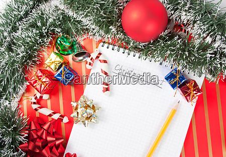 christmas, list - 28062537