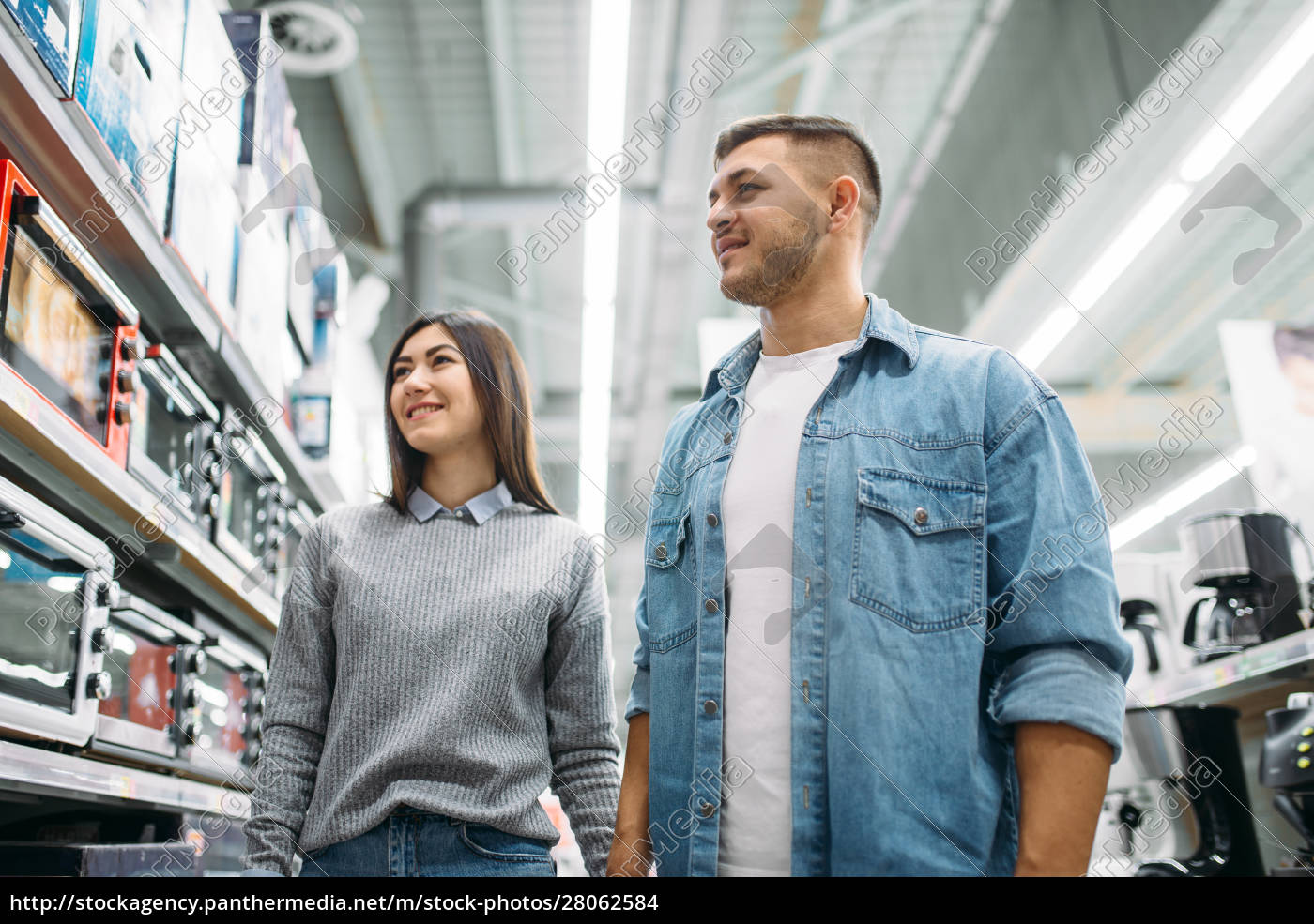 couple, looking, on, shelf, with, electric - 28062584