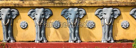 elephant, sculptures, , buddha, temple, , sacred, animal - 28062956