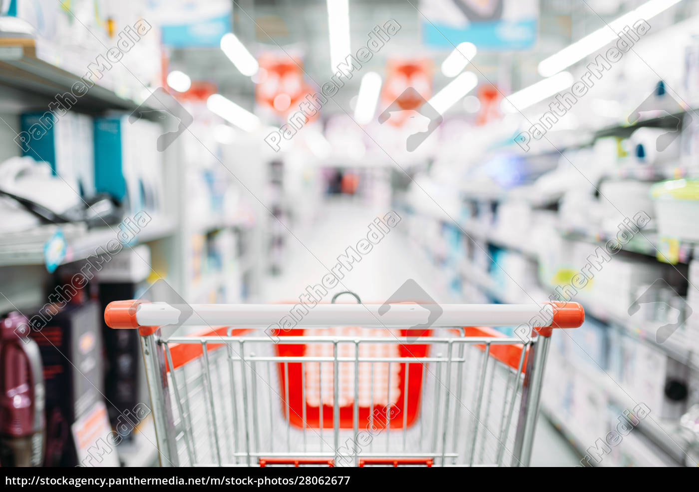 empty, cart, in, department, of, household - 28062677