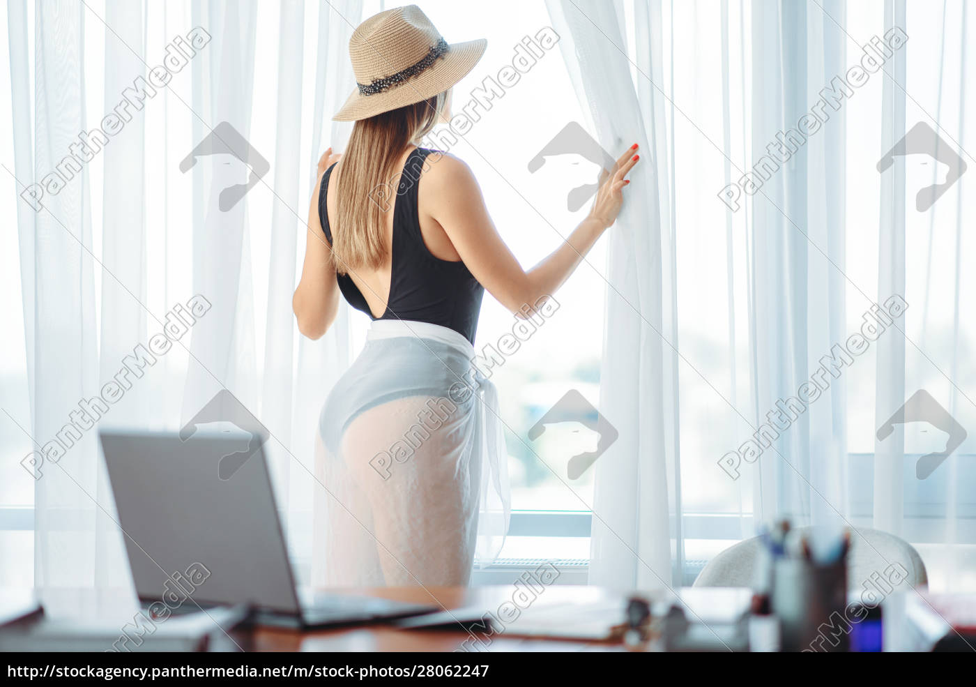 female, person, at, window, , dreaming, about - 28062247
