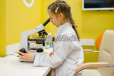 girl, at, the, microscope, , playing, doctor, - 28062163