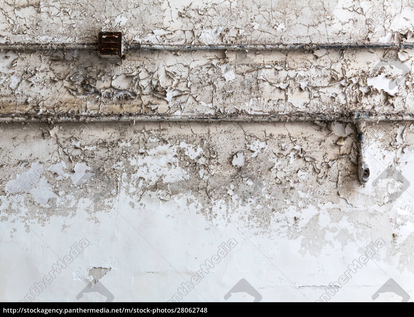 grunge, brick, wall, with, wiring. - 28062748