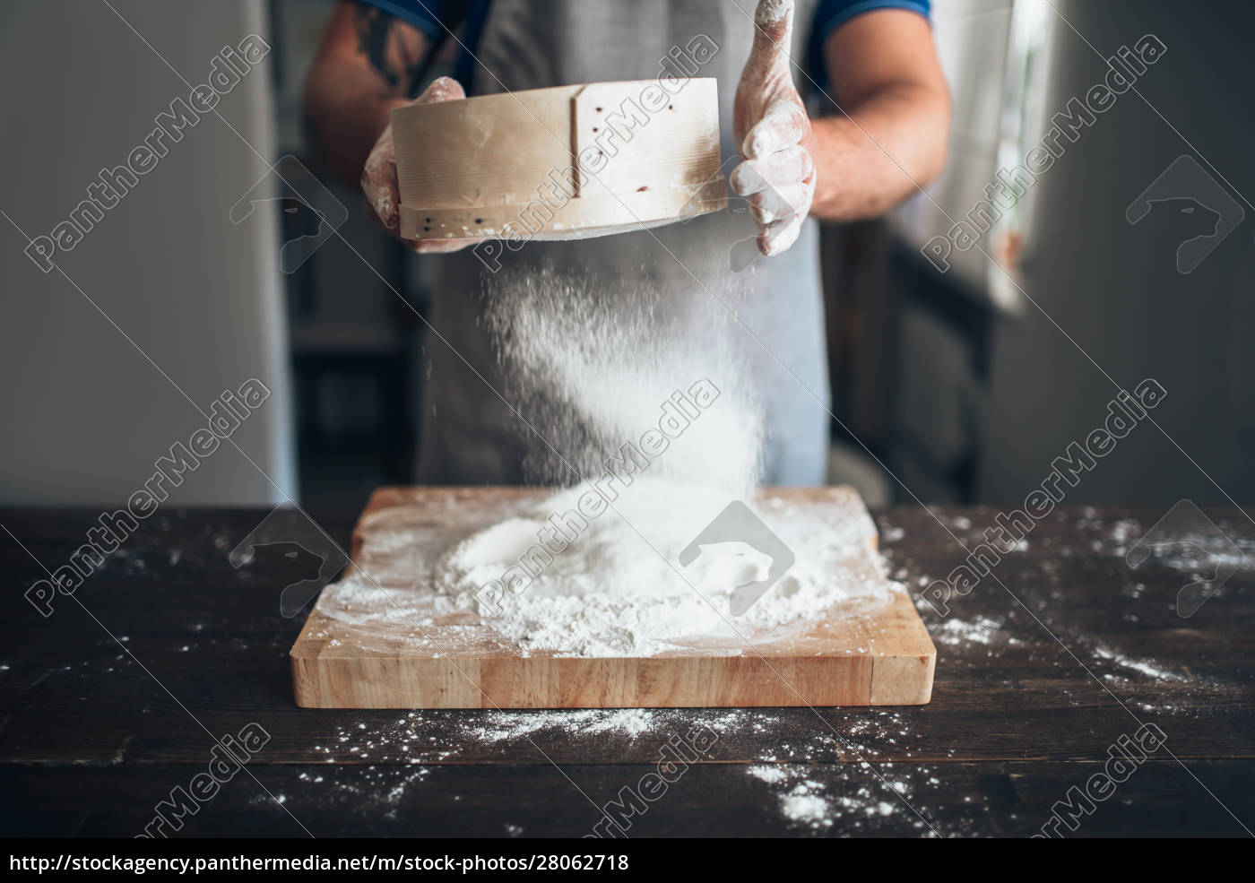 male, baker, hands, filters, the, flour - 28062718