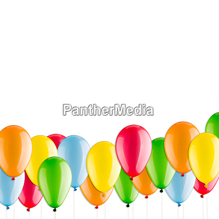 many, colorful, balloons - 28062258