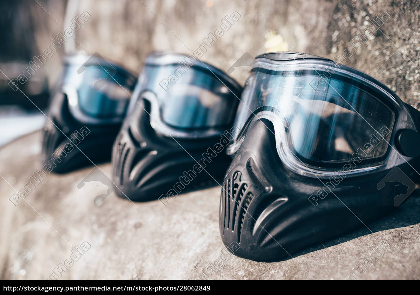 paintball, masks, with, glasses, closeup, , nobody - 28062849