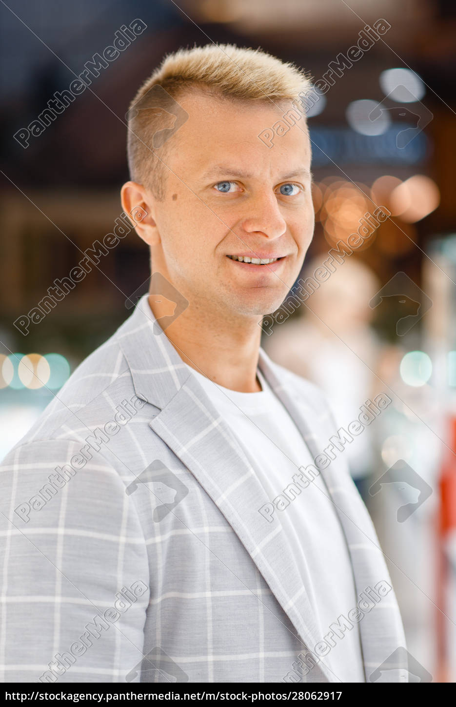 portrait, of, cheerful, man, in, light - 28062917