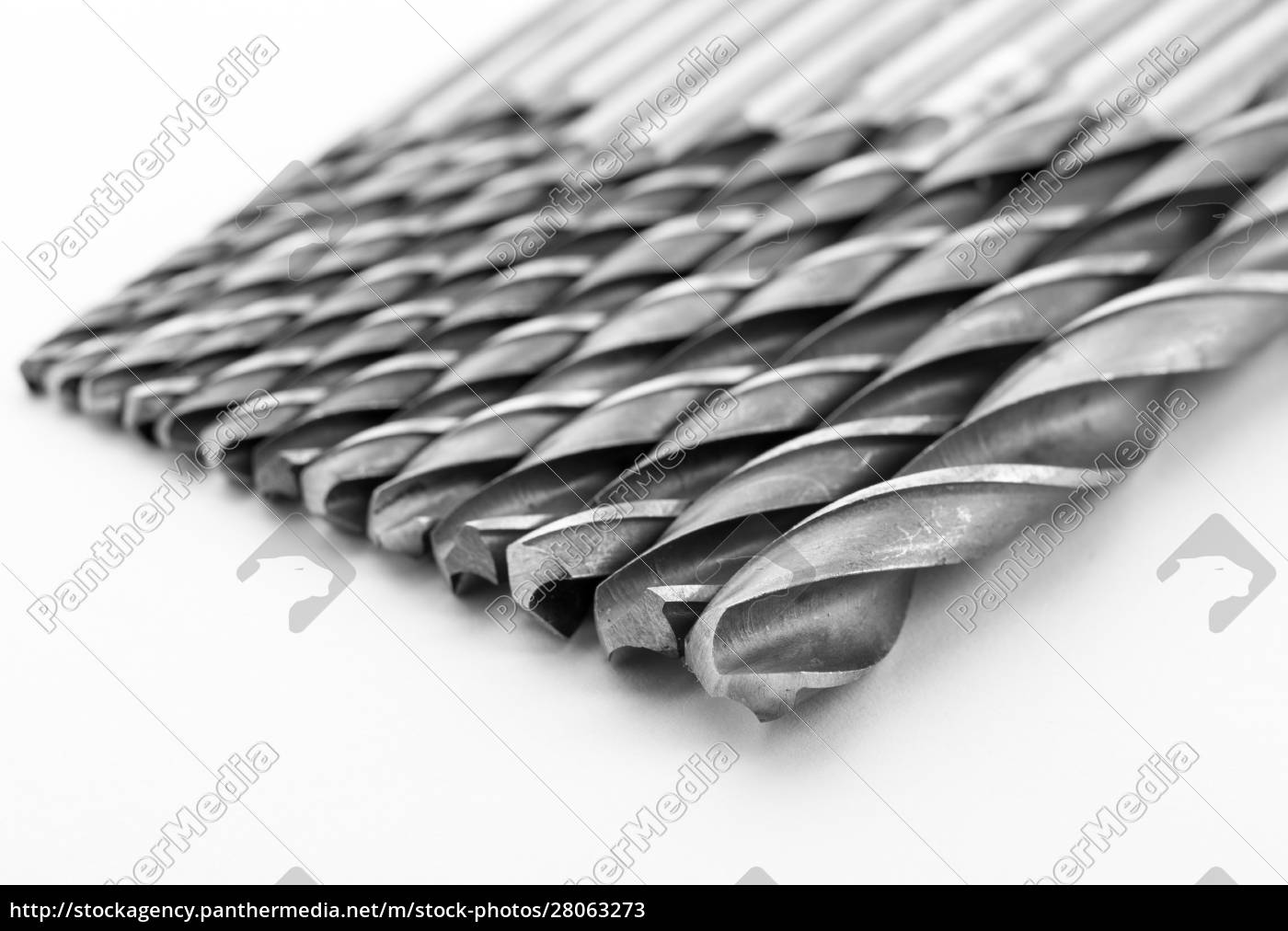 drill, bits, isolated, on, white - 28063273