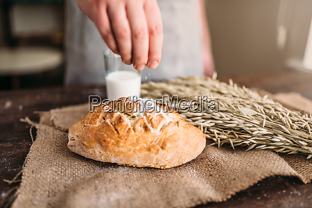 homemade, bakery, concept, , natural, organic, food - 28063314