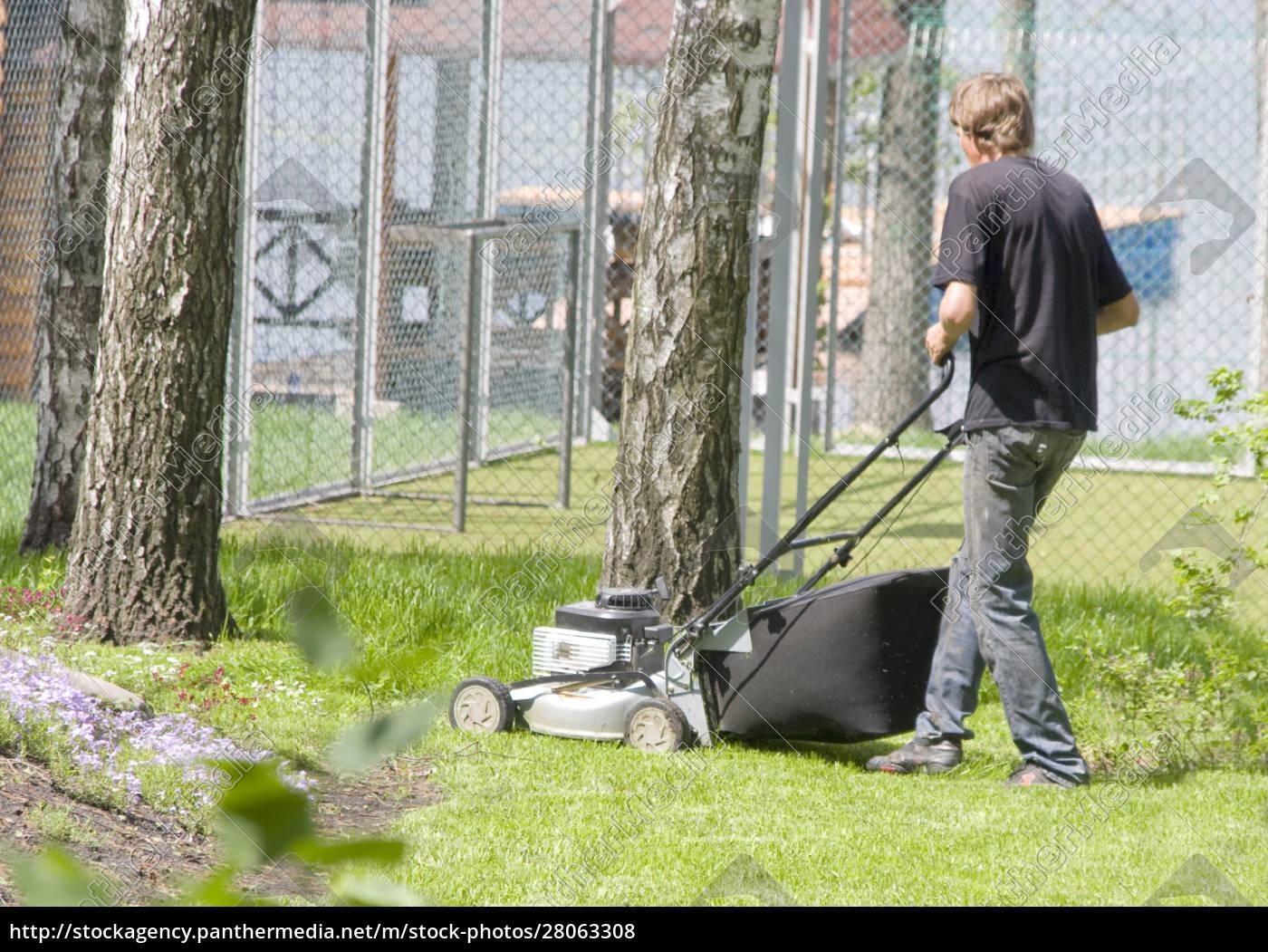 lawnmower, man - 28063308