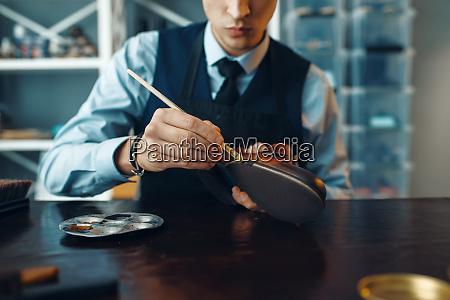 shoemaker, wipes, black, shoe, polish, , footwear - 28063084