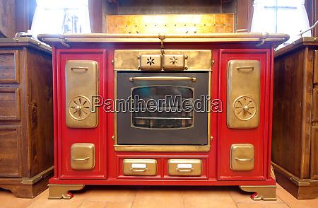 vintage gas cooker