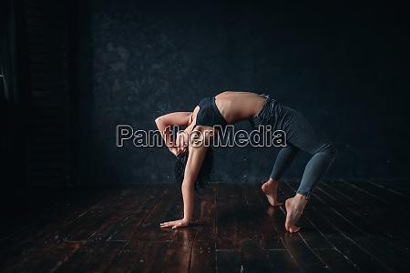 contemp dancing female performer in dance