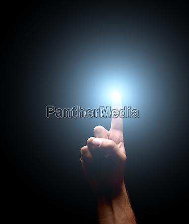 lighting finger