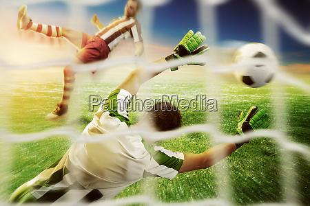 goalkeeper, on, the, field - 28076152