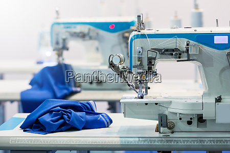 sewing machines nobody cloth industry