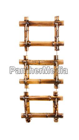 three bamboo photo frames