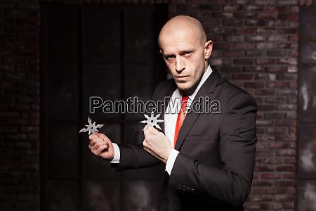 secret agent explore oriental martial arts