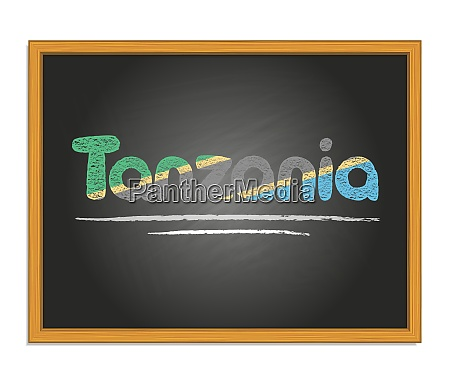 tanzania country name and flag color