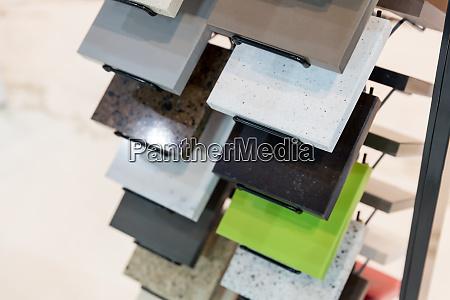 set of ceramic tile