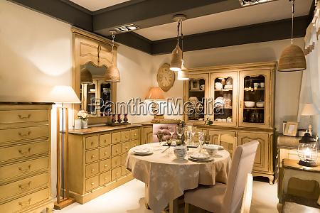 refined dining room