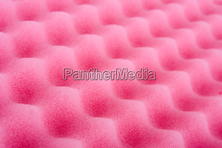 pink cleaning sponge