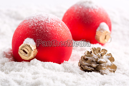 colorful, christmas, baubles - 28082841