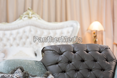 interior, of, a, retro, bedroom - 28082326