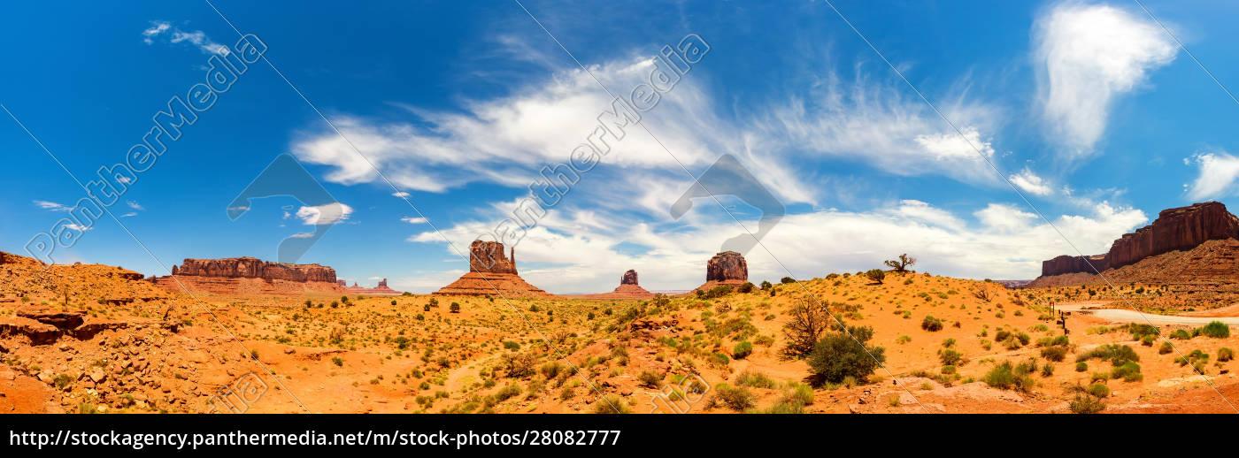 scenic, sandstones, landscape, at, monument, valley - 28082777