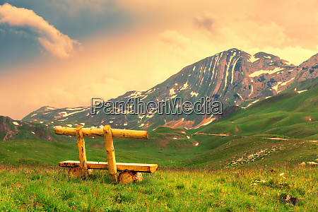 mountain and green landscape of montenegro