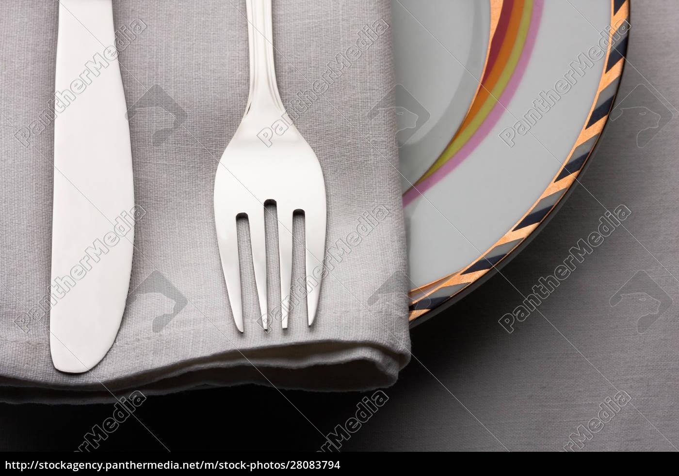 dinner, set - 28083794