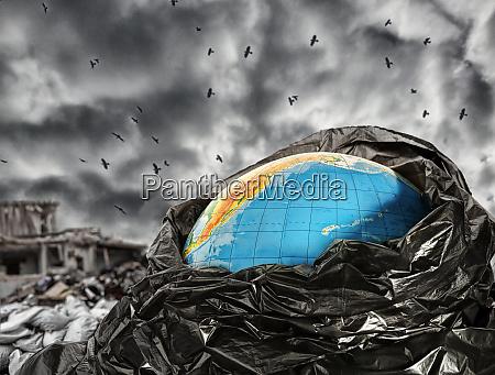 earth, contamination - 28083221