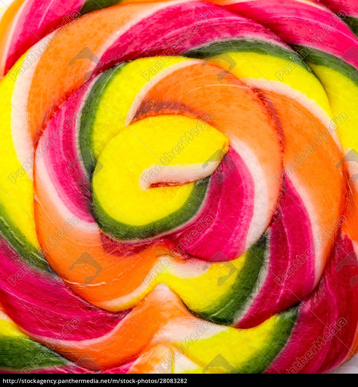 lollipop, on, white - 28083282