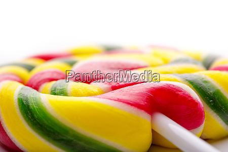 lollipop, on, white - 28083322