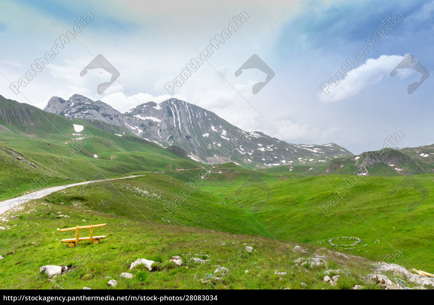 mountain, and, green, landscape, of, montenegro - 28083034